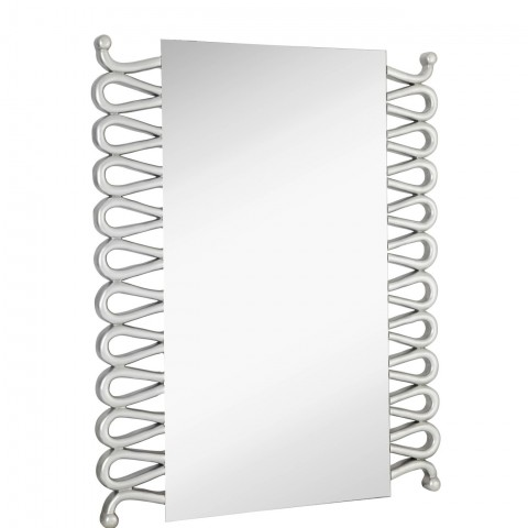 Weight-  45 lbs Color - Silver, Silver Leaf Shape - Rectangle Frame -Urethane Size -36 x 48