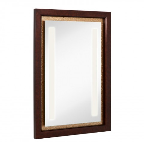 Weight 80 lbs Frame Mixed Media Shape Rectangle Size 31.5 x 45.5 Color Brown, Mahogany